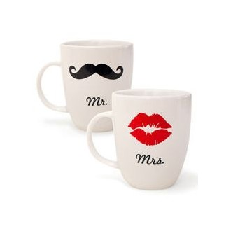 MR&MRS COUPLE MUGS
