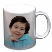 Personalised Photo Mug- Silver