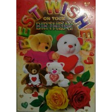 Best  Wishes Birthday Card