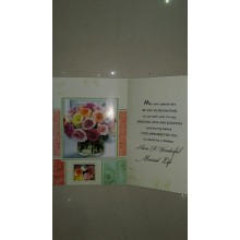 Wedding Whishes Card