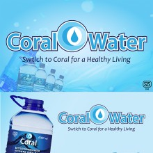 Coral Bottled Drinking Water - Box (1,000ml, 12 Bottles)