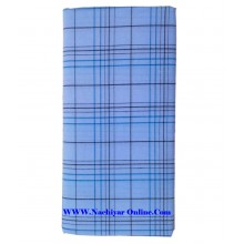 Kibs White Cotton Lungi