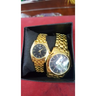 Couples Watch(Gold)