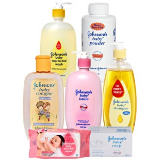 JOHNSON BABY BATHING KIT (SET OF07)